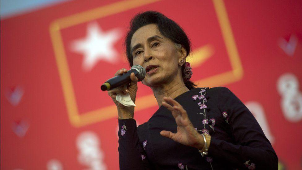 NLD leader Aung San Suu Kyi (1 Nov 2015)