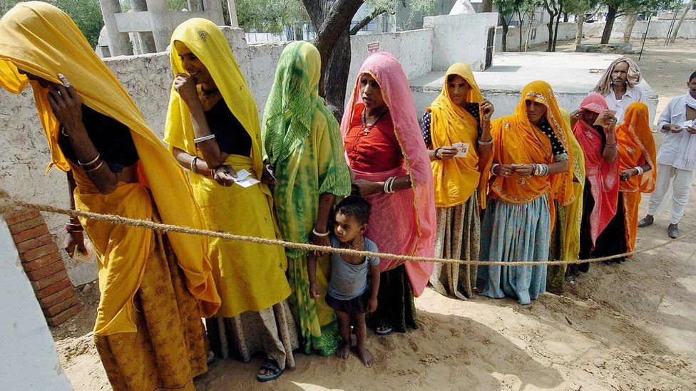 File photo of India voting