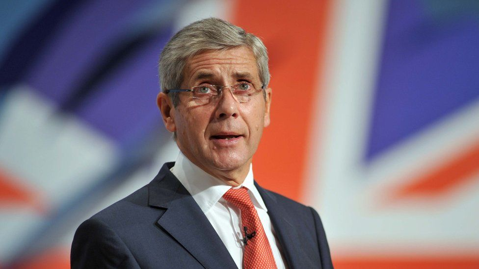 Stuart Rose at the 2010 Conservative Party conference