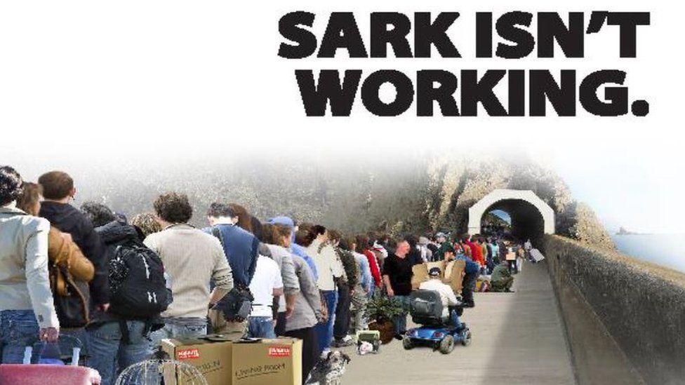 Sark First leaflet