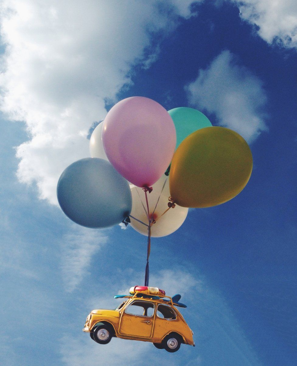 Fiat and balloons