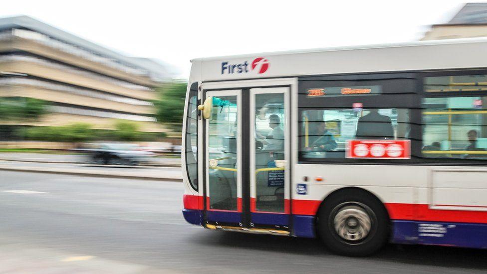 Bus in Glasgow