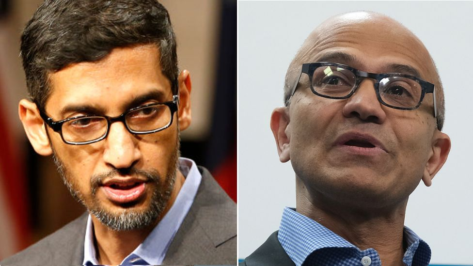 Covid: Google and Microsoft bosses pledge support to India thumbnail