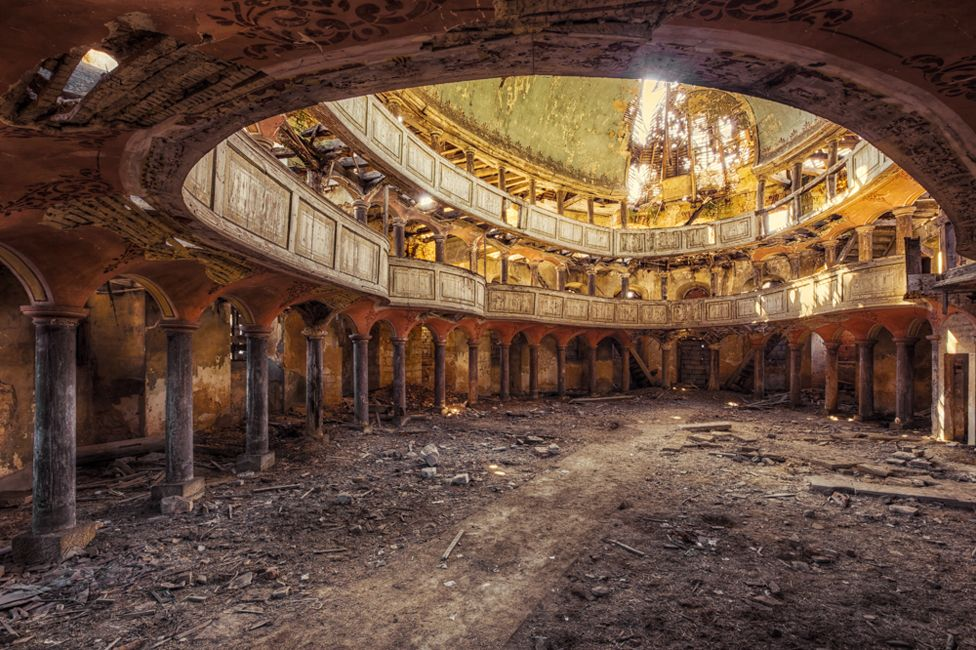 the abandoned buildings of the eastern bloc bbc news