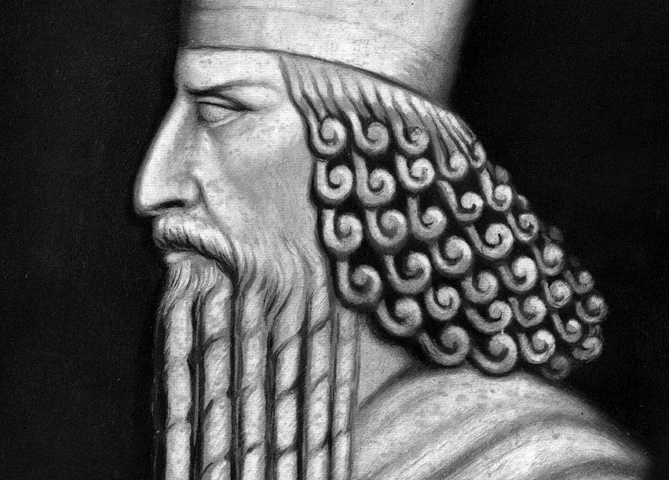Zoroaster - illustration from 18th Century