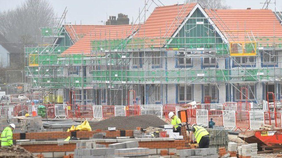 Builders creating 63 new homes in Burslem, England