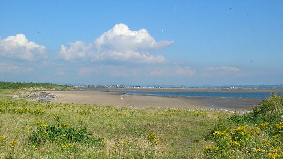Burry Port Beach in Carmarthenshire's Millennium Coastal Park