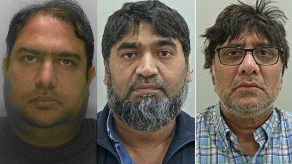 Muhammed Amjad, Mohammed Manijra and Gulam Saiyed
