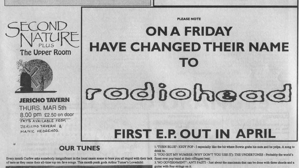 On A Friday name change advert