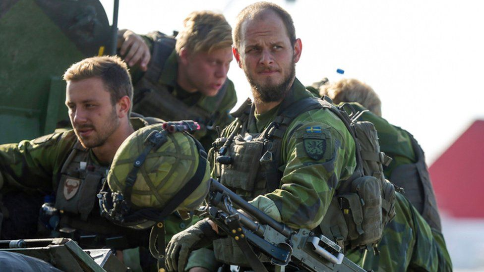 Swedish soldiers in Gotland, 14 Sep 16