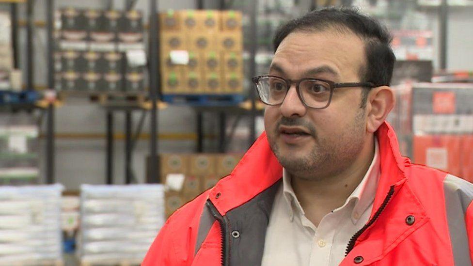 Nima Beni, director of Prima Cheese