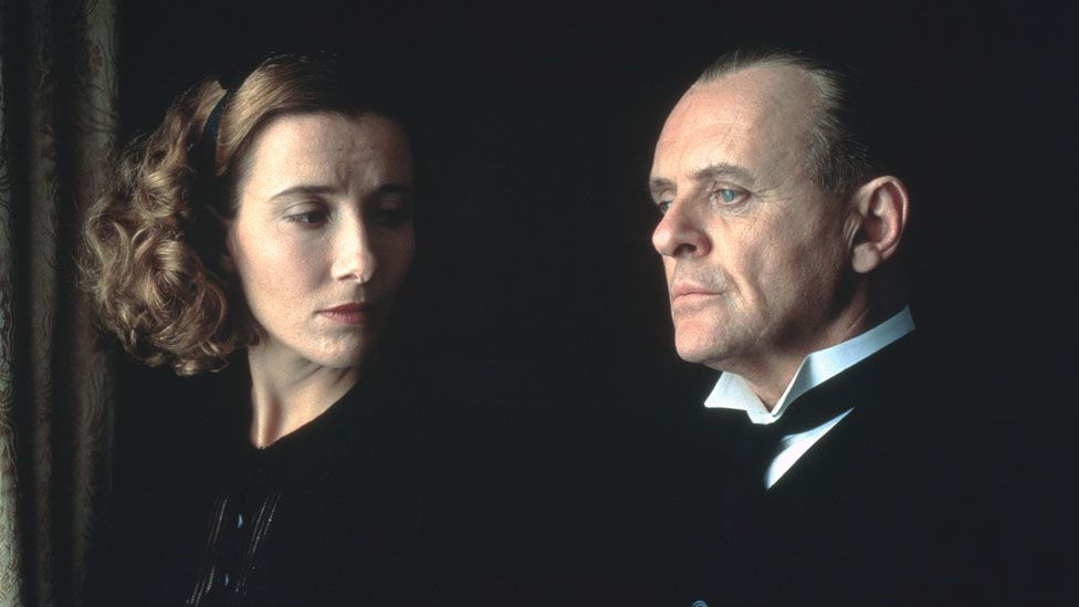 Emma Thompson and Anthony Hopkins in The Remains of the Day