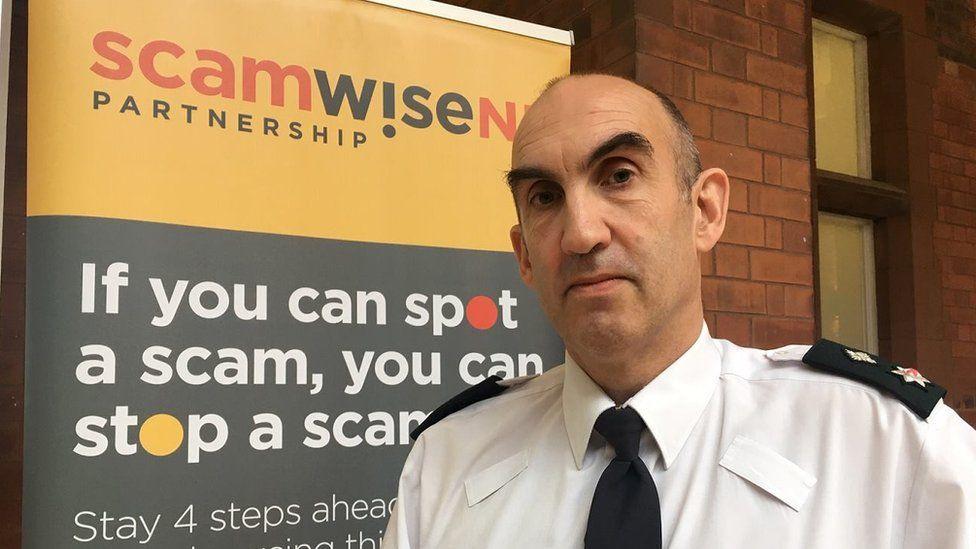 Chief superintendent Simon Walls