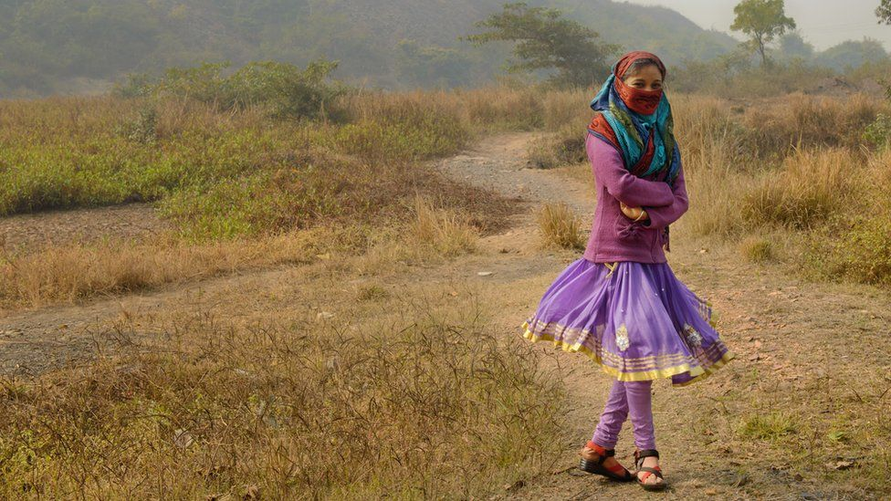 V was abducted and raped while she was on her way to school