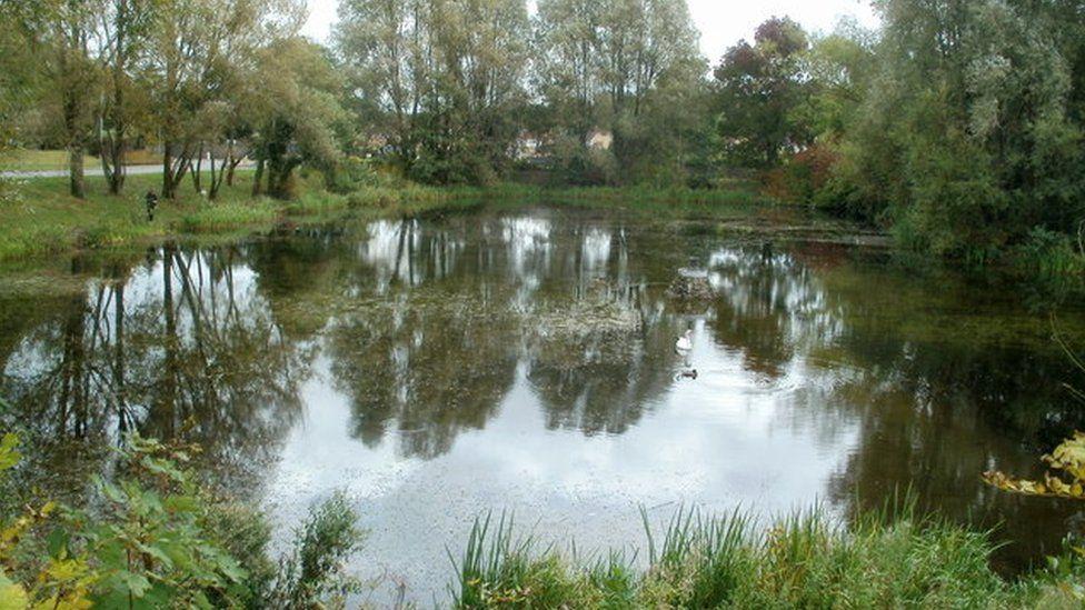 Lake in Llantarnam
