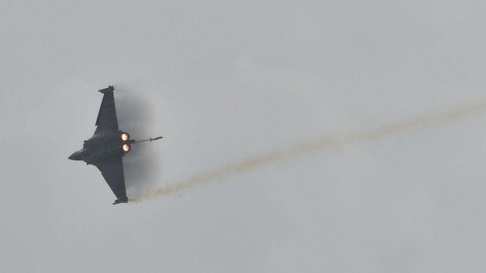 A French Rafale jet