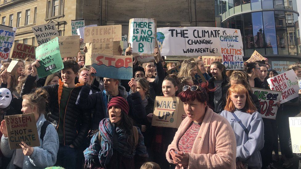 Newcastle protest