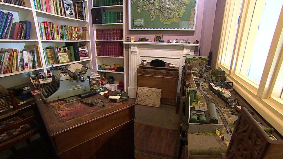 Part of The Rev W Awdry's study