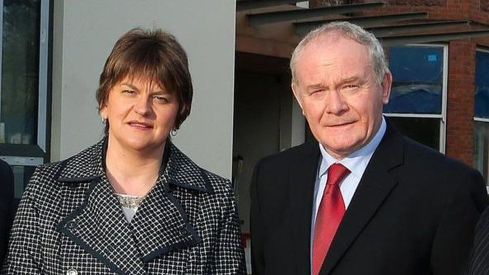 Arlene Foster Martin McGuinness