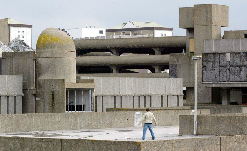 The Tricorn Centre, in Portsmouth