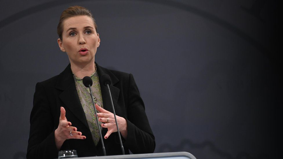 Danish Prime Minister Mette Frederiksen (6 April 2020)