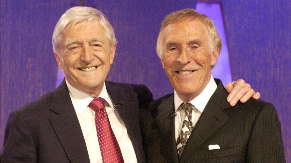 Sir Michael Parkinson and Sir Bruce Forsyth
