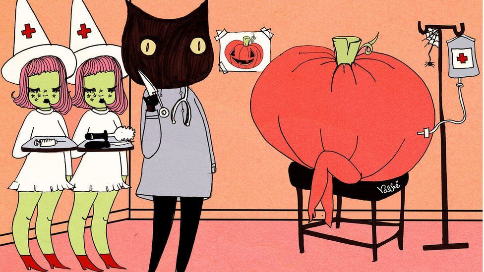 Ms Valfre's art is inspired by comic books and Japanese anime