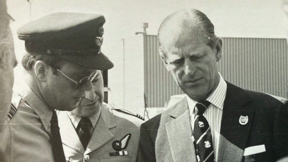 Geoffrey Williams and Prince Philip