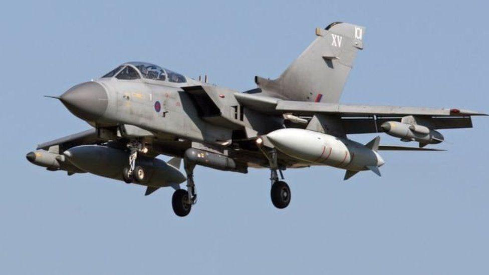 awyren Tornado RAF