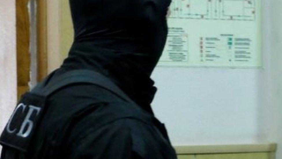 FSB agent in Russia. File photo