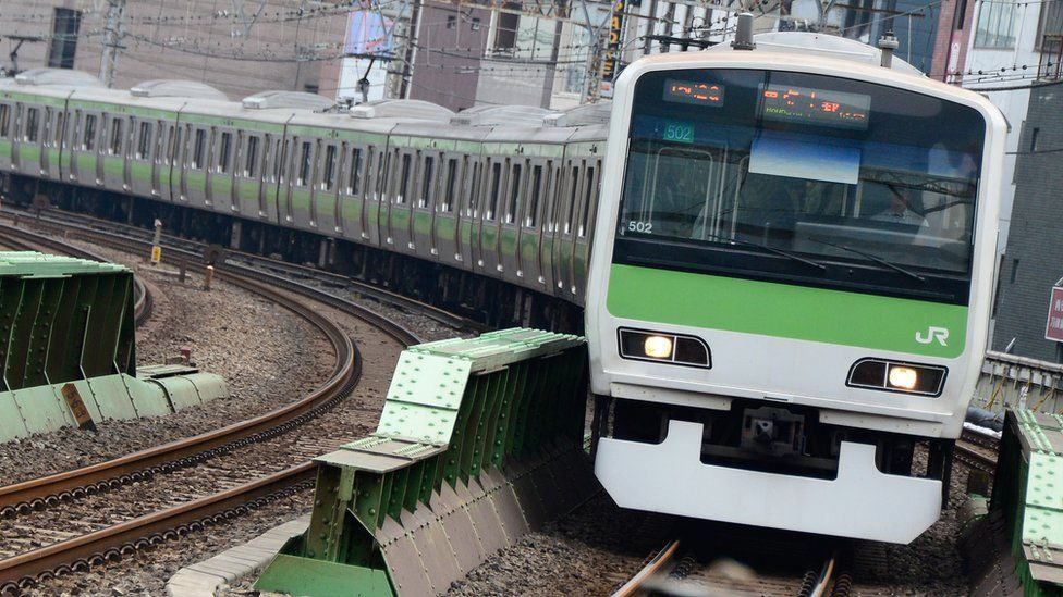 File image of a Japanese Railways train