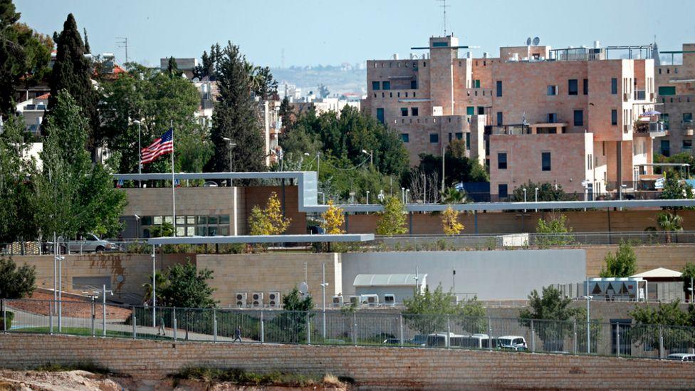 US consulate in Jerusalem 2018