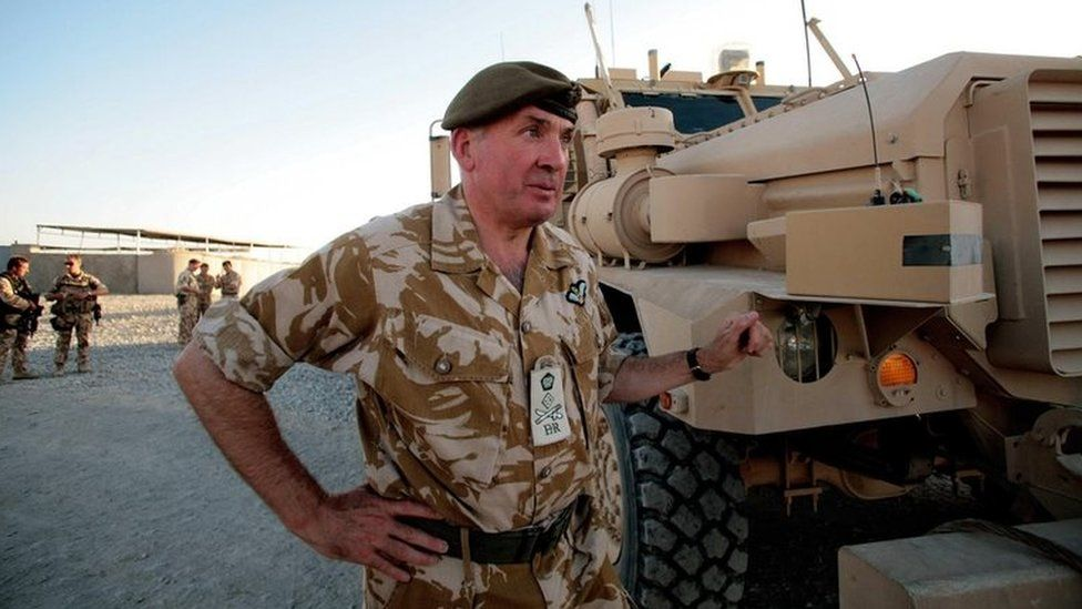 Lord Dannatt in Afghanistan