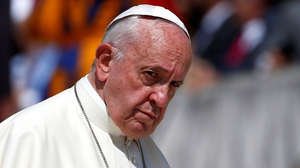 Pope Francis (June 2019 file picture)