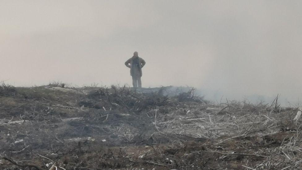 Rain helps bring Highland wild fires under control
