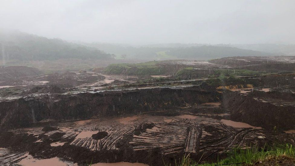 Aftermath of the Brumadinho dam collapse