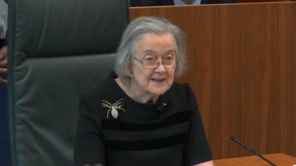 Justice Lady Hale reads out Supreme Court's ruling on suspension of Parliament