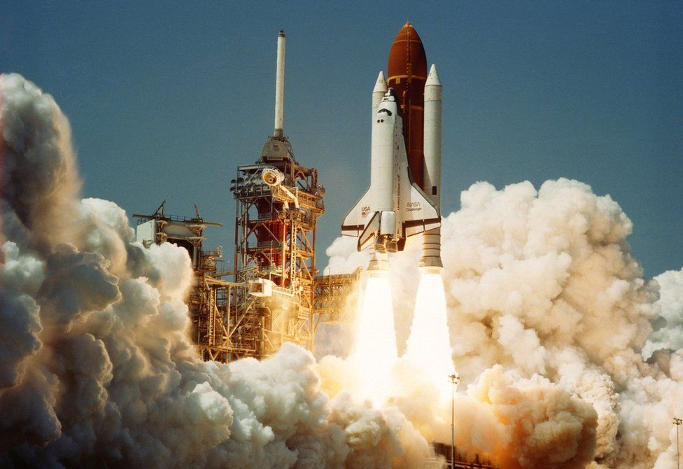 STS-6 launch