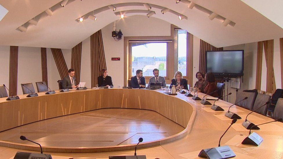 Meeting with Justice Secretary Humza Yousaf