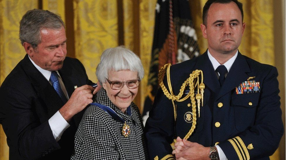 Harper Lee and George Bush