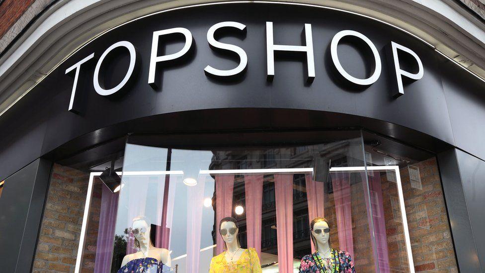 High street store Topshop