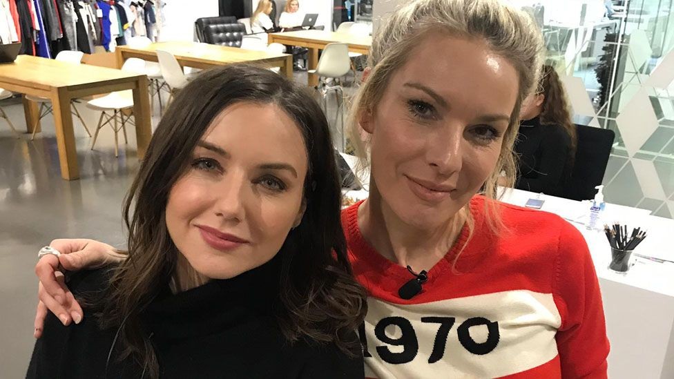 Sali Hughes (left), with co-founder Jo Jones, run a charity delivering toiletries to people in poverty