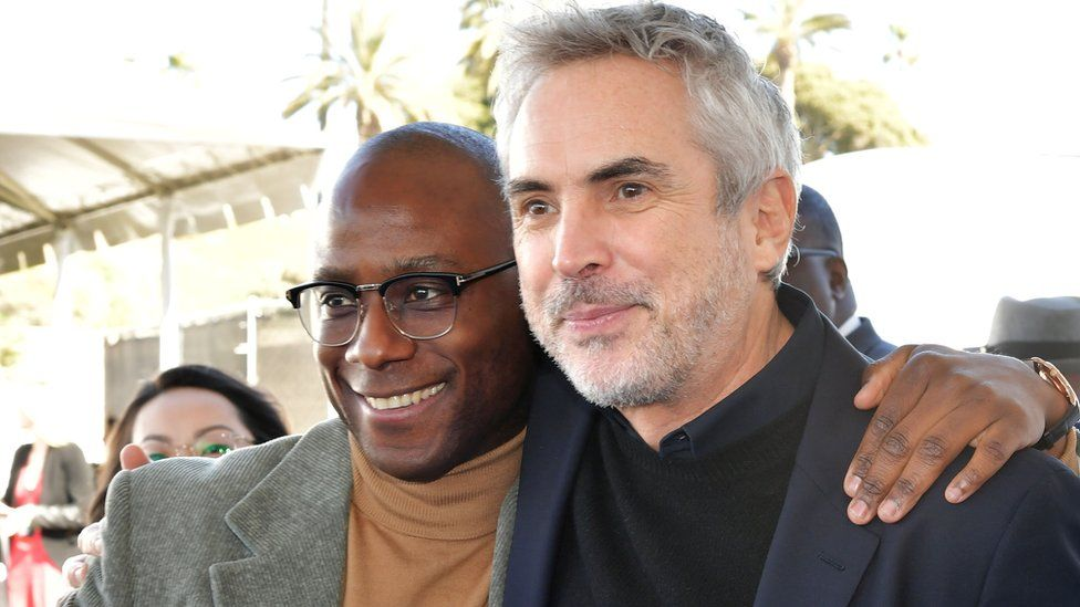 Barry Jenkins and Alfonso Cuaron