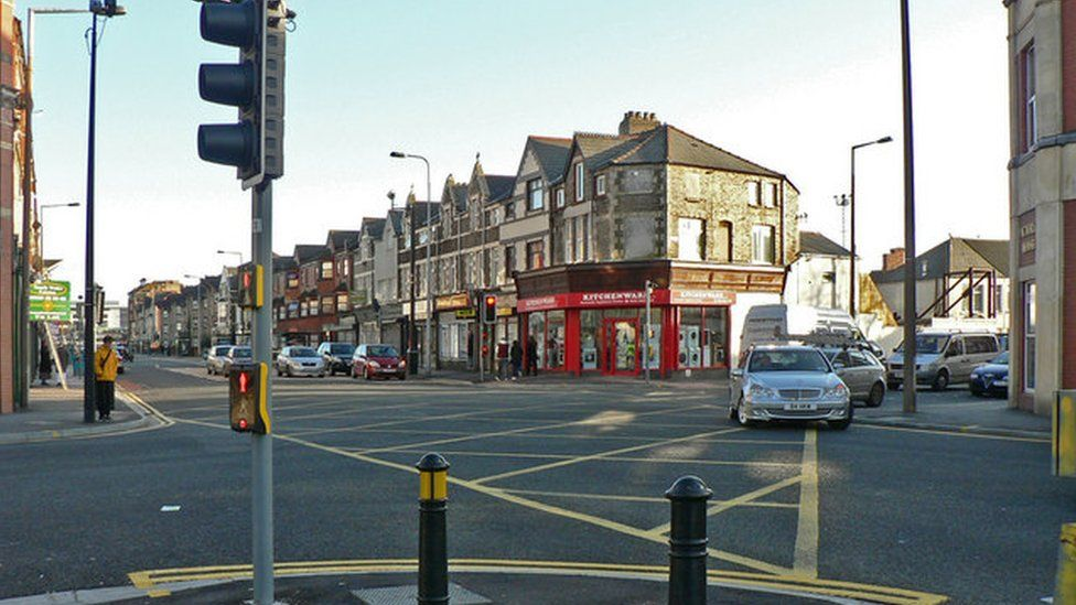 The junction of Clare Road and Tudor Street, Cardiff
