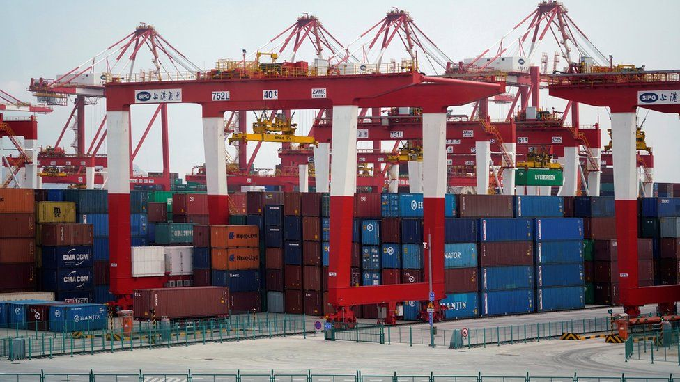 Containers in China