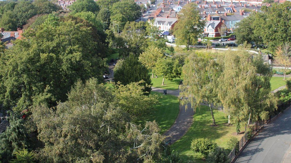 View from St Margaret's church tower