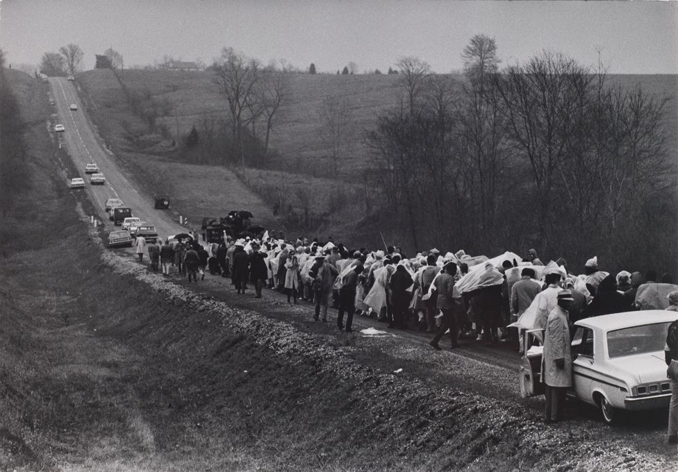 Selma to Montgomery march - May 1965