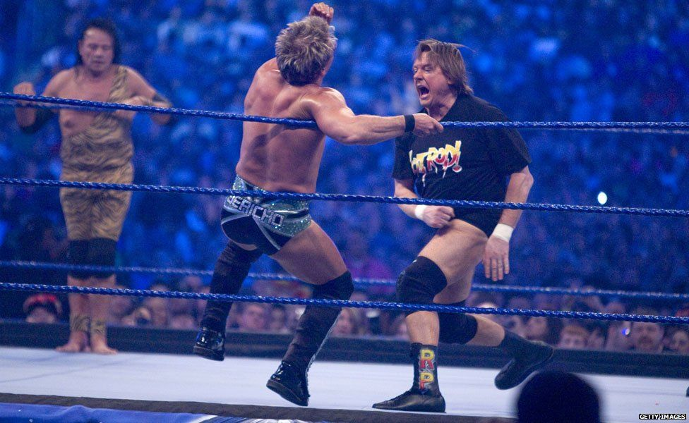 Roddy Piper and Chris Jericho
