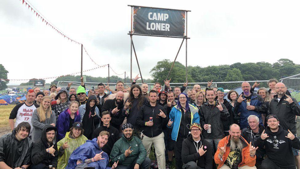 'Camp Loner' at Download Festival 2018