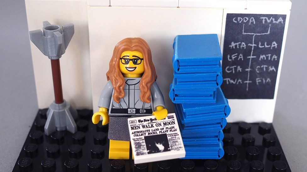 Lego version of computer scientist Margaret Hamilton